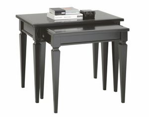 Villa Borghese coffee table bis 3373, Directoire style coffee table