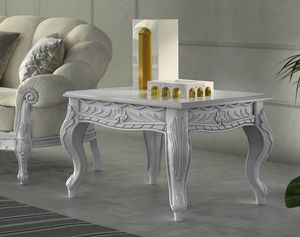 Zaffiro Art. 8241 - 8251, Carved coffee tables in lacquered wood