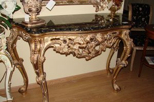Art. 114, Console with marble top, Florentine style