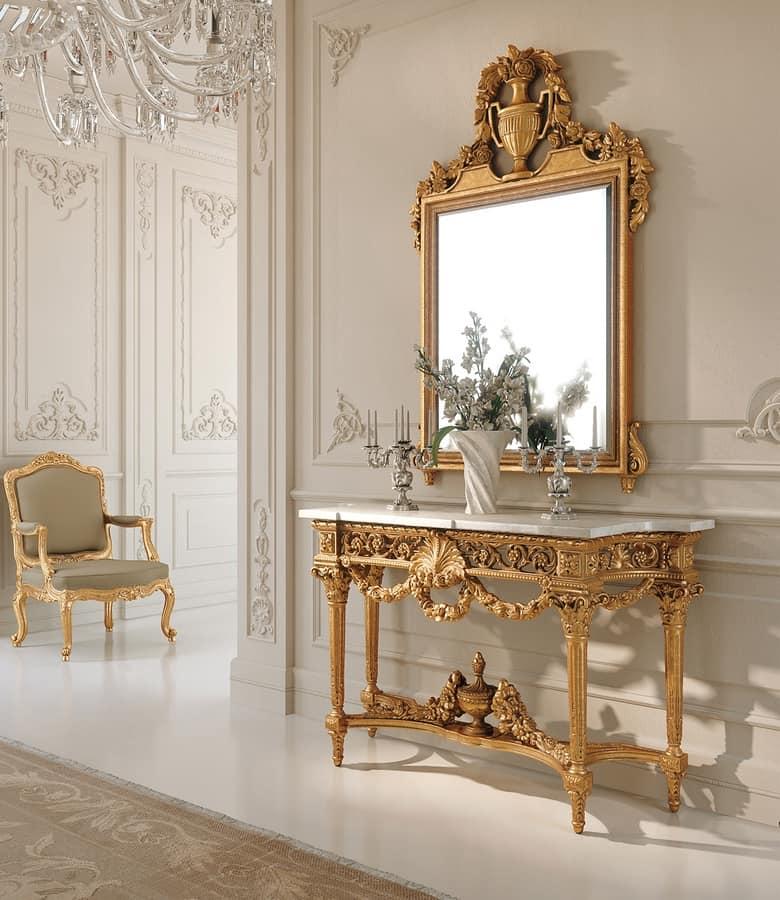 Art. 262, Fancy Louis XVI style console