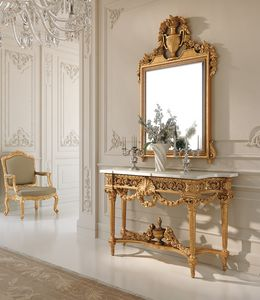 Art. 262, Fancy Louis XVI style console