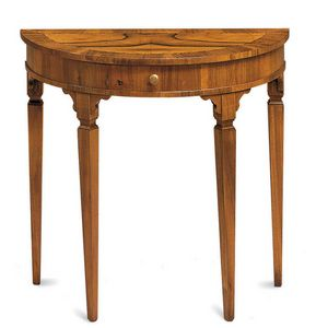 Art. 391, Classic style console with drawer