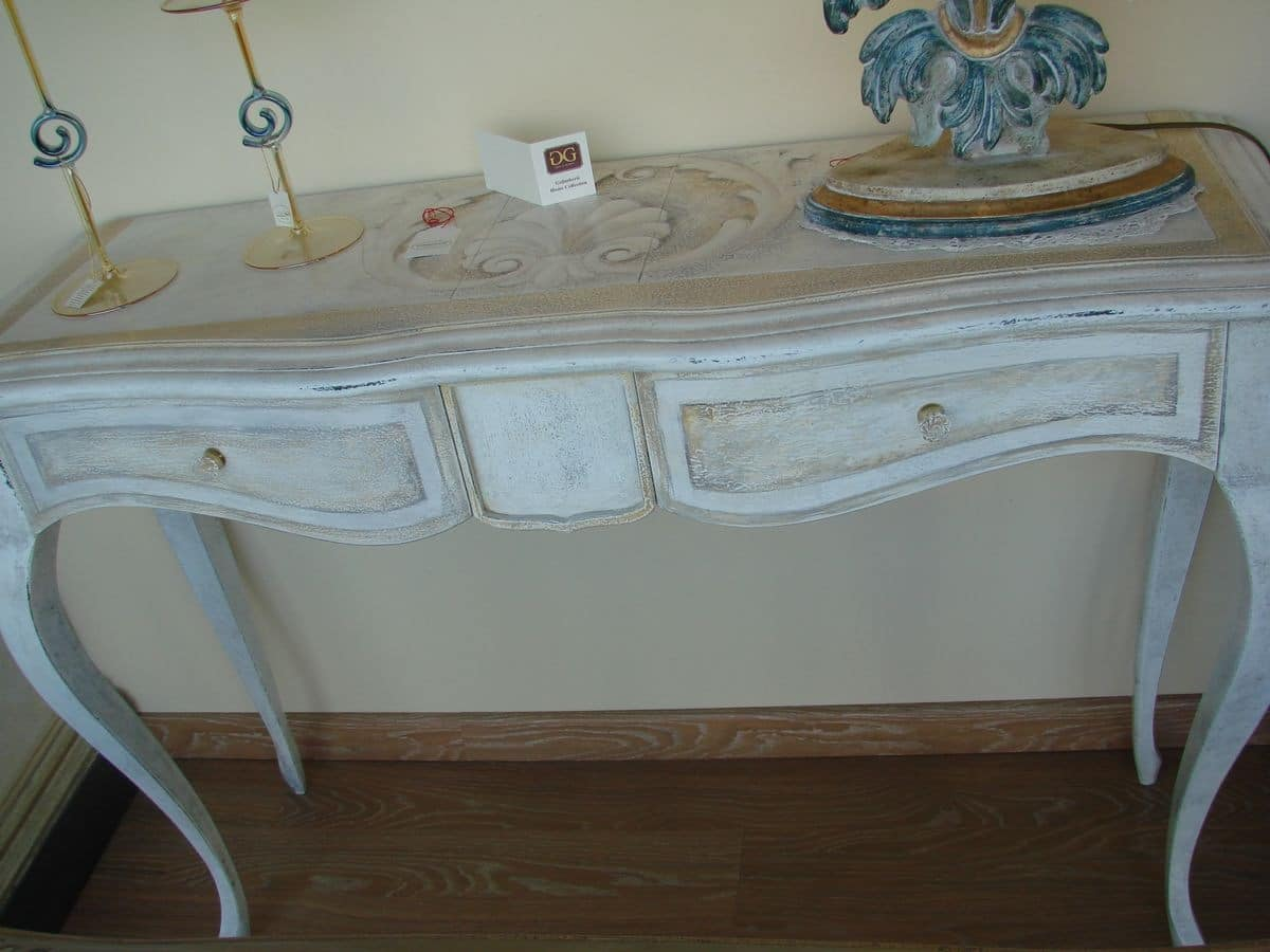 Art. 774, Classic console for the home, with 2 drawers for entrance