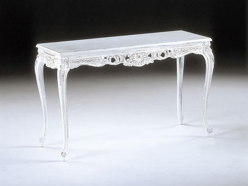 Art. 930, Console in classic style, carved, for entrance