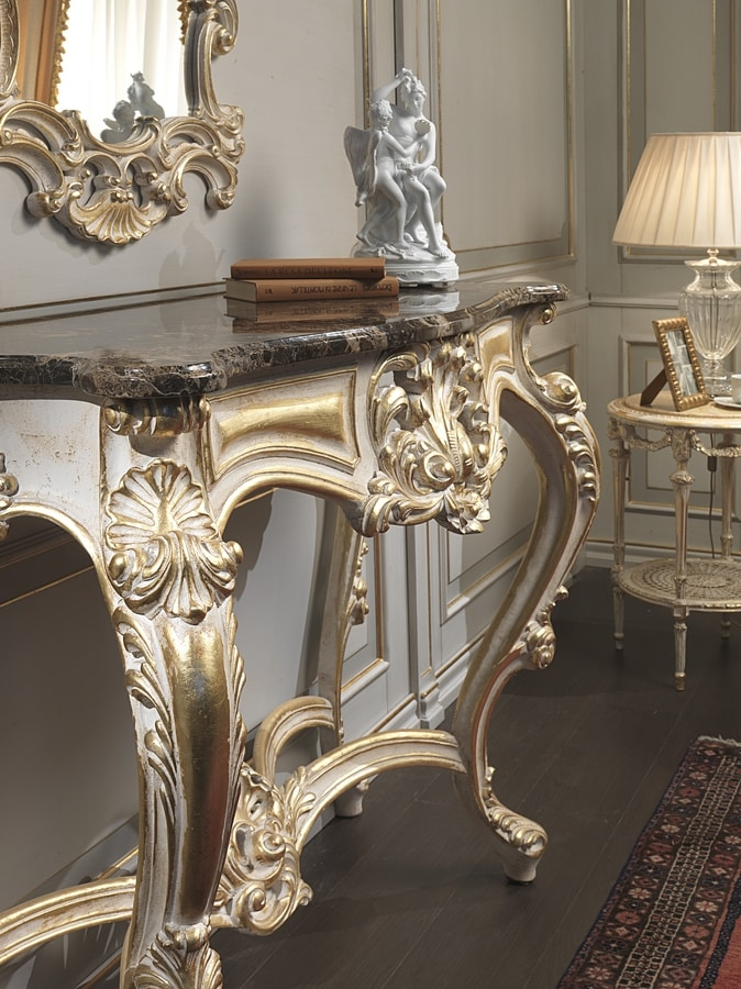 Art. 990, Classic luxury entrance furniture, for hotel Halls
