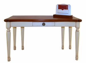 Avignon VS.5557, Extendable console in walnut, for hotel entrances