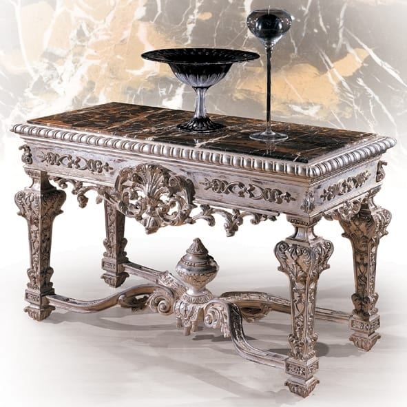 Console 5234, Classic console with silver finish