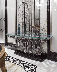 FICUS Consolle, Luxury glass console table