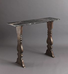 HF2023CO, Console with black marble top
