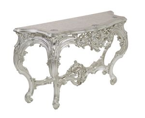 Scent of flowers console, Luxury console with top inlaid with mother of pearl