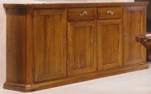 '500 170, Classic style sideboard, in walnut wood