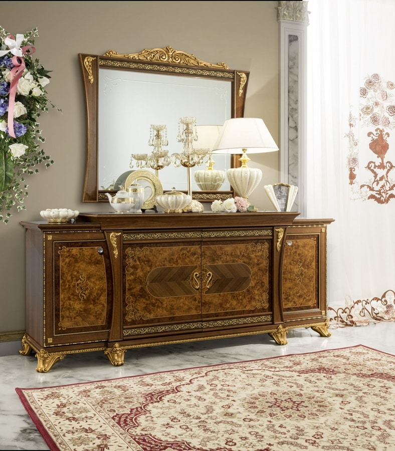 Aida sideboard, Classic sideboard with refined details