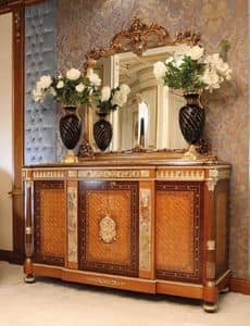 Art. 125, Classic sideboard with marble inserts