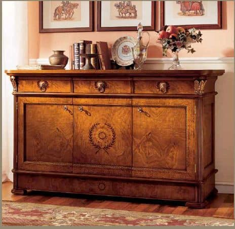 Art. 650/3, Sideboard with 3 doors to the dining room classic