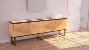 CR58, Sideboard with 4 doors in contemporary style