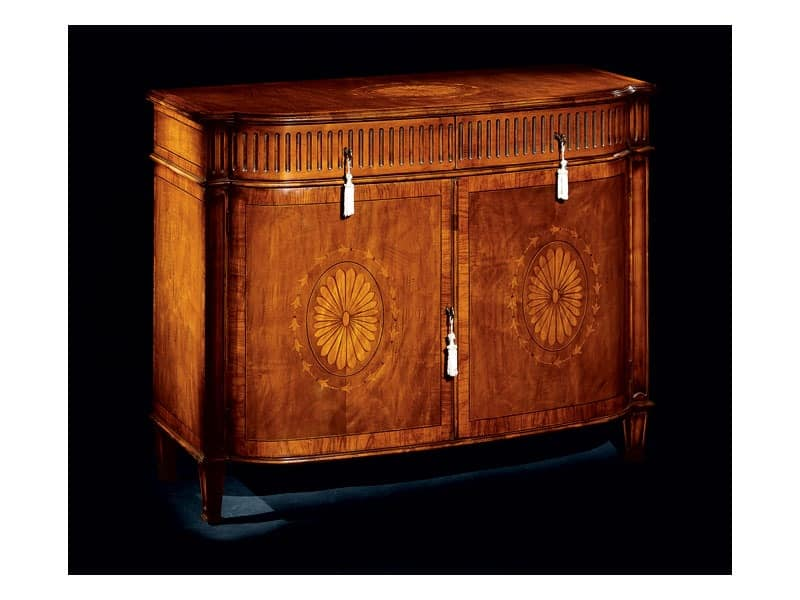 Hepplewhite sideboard 749, Sideboard with two doors for dining room