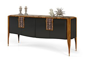 LEXINGTON AVENUE Sideboard, Luxury sideboard in inlaid wood