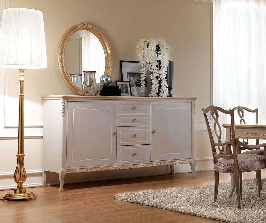how to style a sideboard in living room. Black Bedroom Furniture Sets. Home Design Ideas