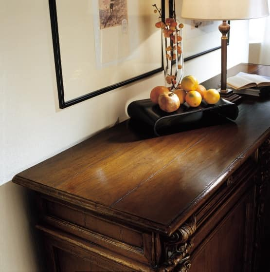 MEMORY Art. 420 / Sideboard, Sideboard with 2 doors and 2 drawers, in '500 Tuscan style