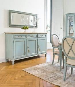 NAMAKA Art. 1206, Lacquered sideboard, classic luxury, for dining room