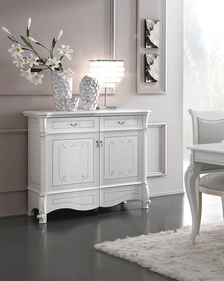 Prestige Art. 607, Sideboard in lacquered wood