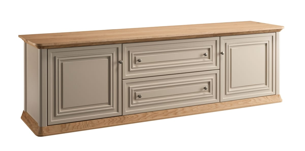 Romantica sideboard 7514, Classic sideboard with drawers