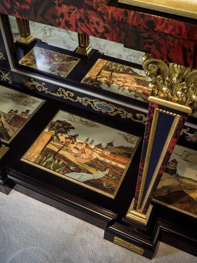 Sideboard 5835, Late Baroque style sideboard