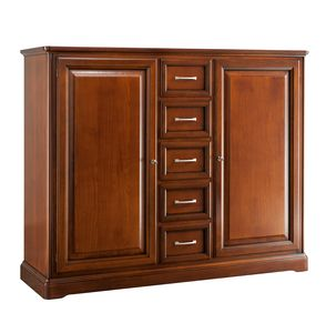 Villa Cinquanta sideboard 7572, Wooden sideboard with drawers