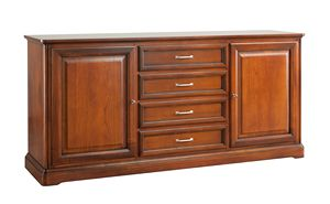 Villa Cinquanta sideboard 7574, Wooden sideboard with drawers
