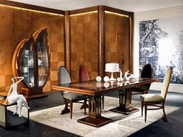 BOIS02 boiserie, Wood paneling, classic luxury, for stays and offices