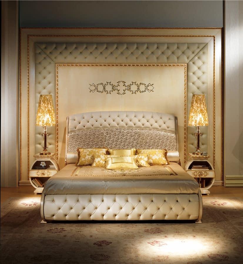BOIS04 boiserie, Luxury classic boiserie, tufted, relief decoration