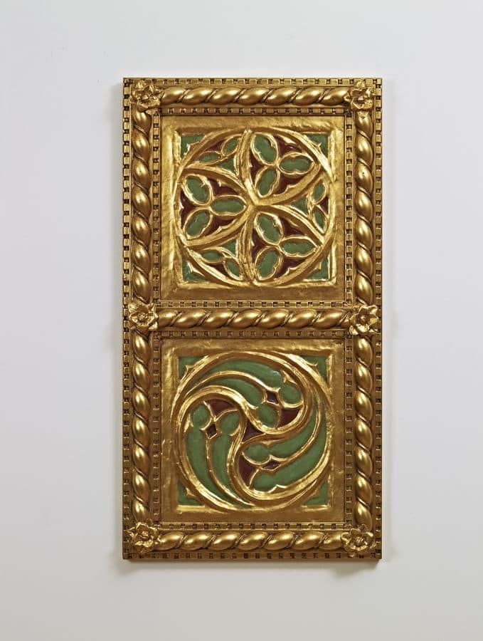 DECORATIVE PANEL / CEILING ART. AC 0009 , Golden decorative panel, in classic style
