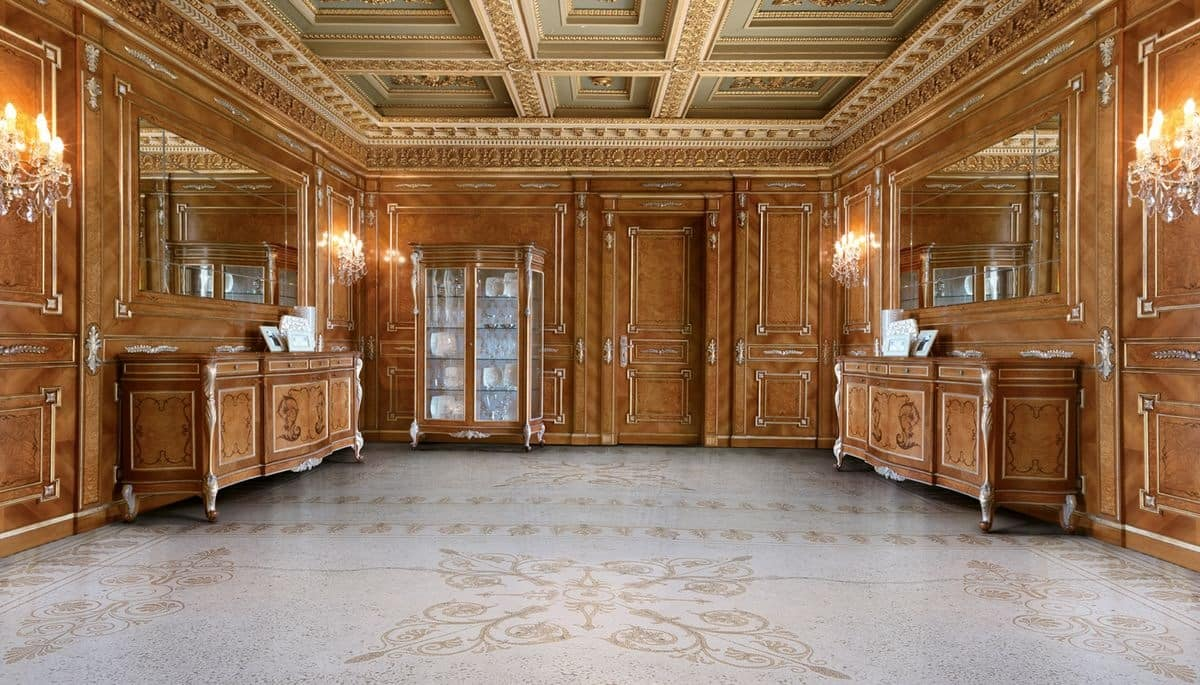 Classical Carved Paneling For Luxury Villas Idfdesign
