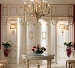 Trianon boiserie, Classic style wall decoration in wood