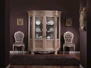3640 VETRINA, Display cabinet with 2 doors suited for dining rooms