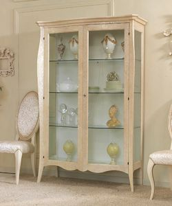 Art. 0137, Traditional display case for dining room