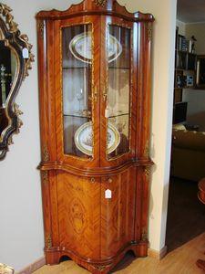 Art. 163, Classical corner display cabinet