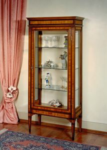 Art. 185 Giordania, Inlaid display cabinet in Louis XVI style