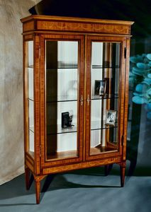 Art. 194 Limoges, Showcase in classic style, with fine inlays