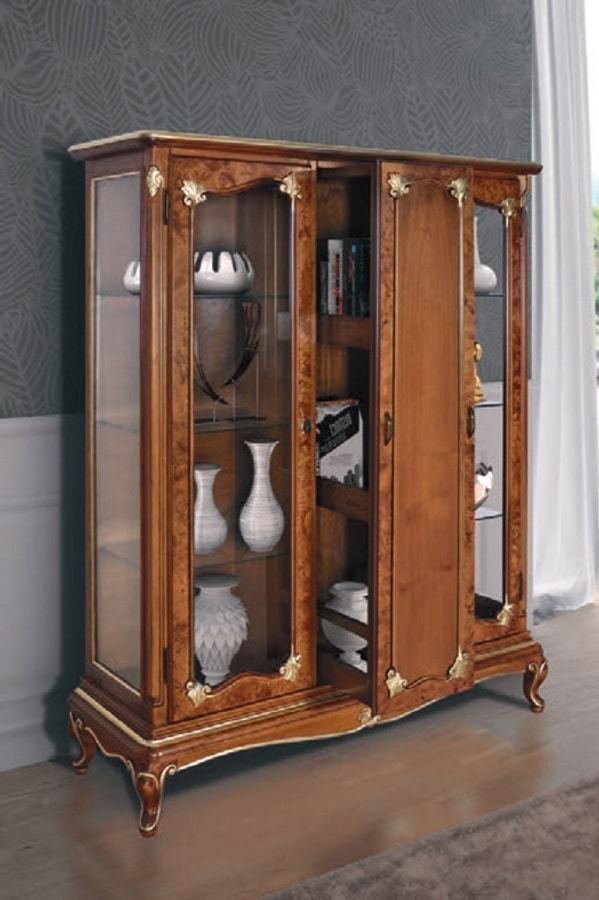 Art. 3058, Bar display cabinet in Art Deco style