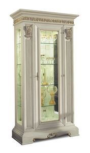 4043, Classic glass display cabinet with one door