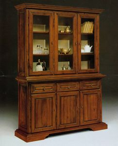 Art. 81/10, Large display cabinet in Tuscan '800 style