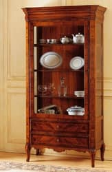 Art. 903 display cabinet '800 Francese, Elegant luxury showcase, for jewellery shop