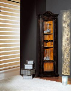 Art. 96/84, Corner display cabinet, with single door
