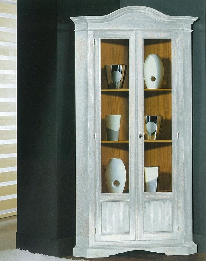 Art. 96/85, Classic style corner display cabinet