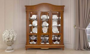 Carlotta display cabinet, Classic showcase for living room