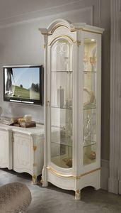 Diamante Art. 2603, Classic showcase with 1 door