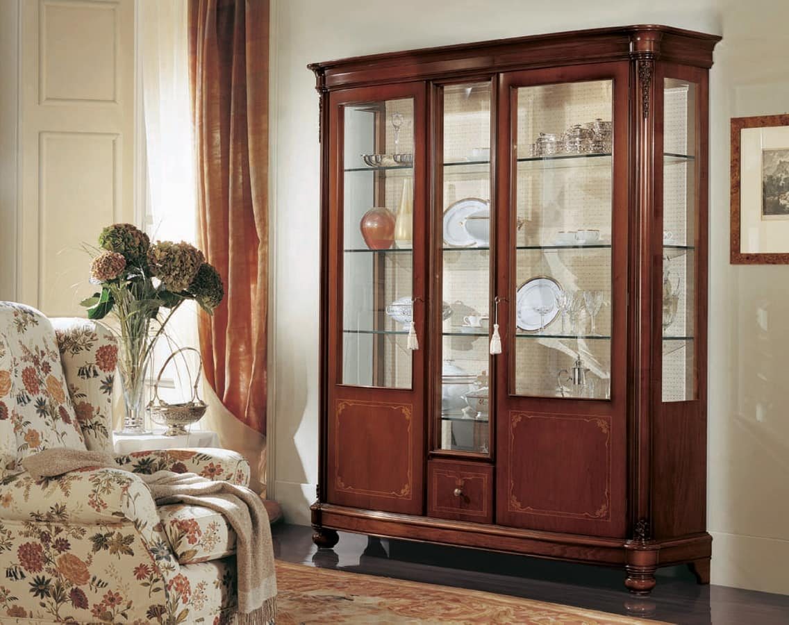 spacious and display assembled cupboard door shelf cabinet fully co florence dp glass bottom built solidly amazon drawerws uk with white dresser