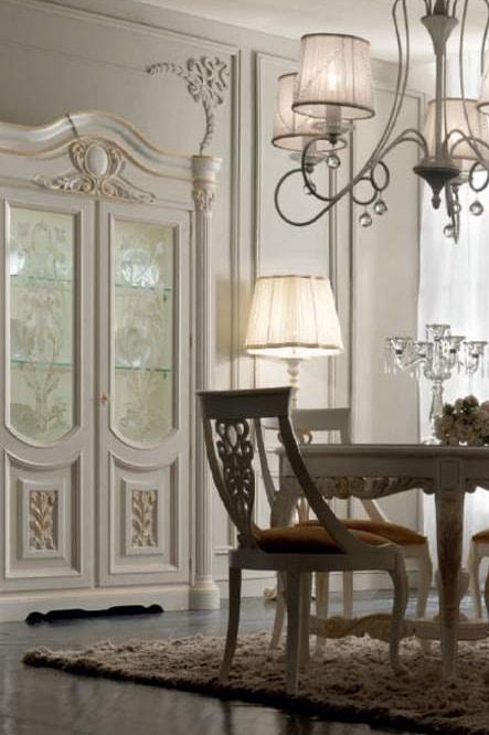Luigi XVI Art. VE/L/140, Display cabinet in Louis XVI style