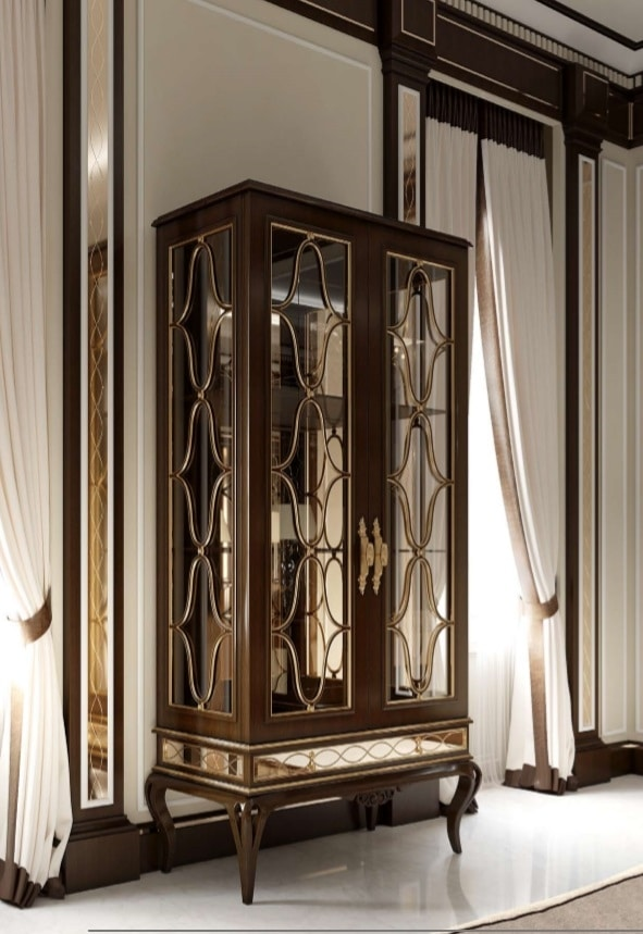 New York showcase, Display cabinet with 2 doors